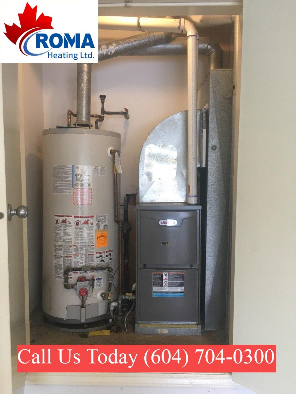, romaheating projects furnace installation repair