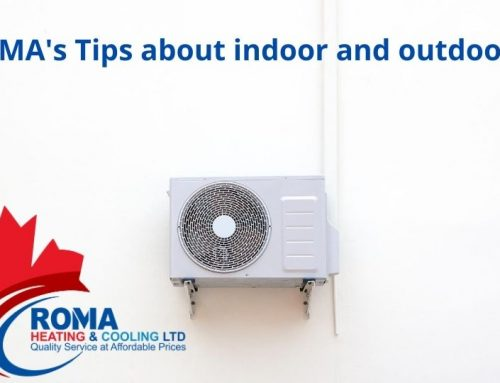ROMA's Tips aboutindoorand outdoor air