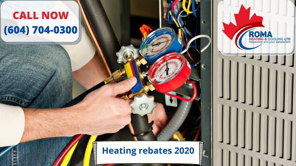 Heating rebates 2020