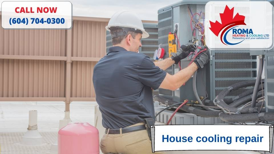 House cooling repair
