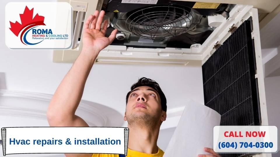 Hvac repairs & installation