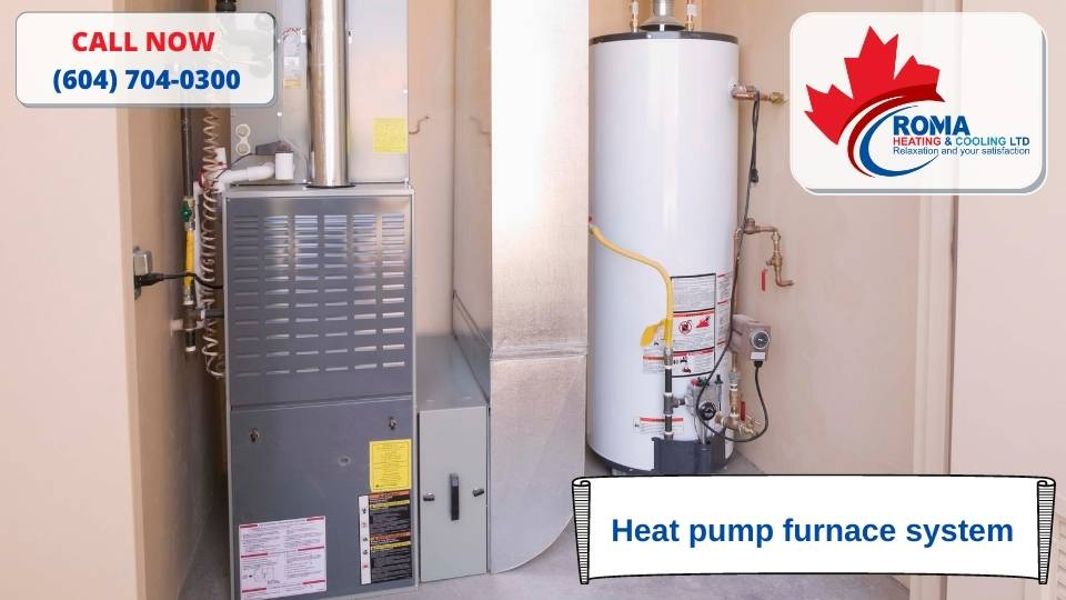 Heat pump furnace system