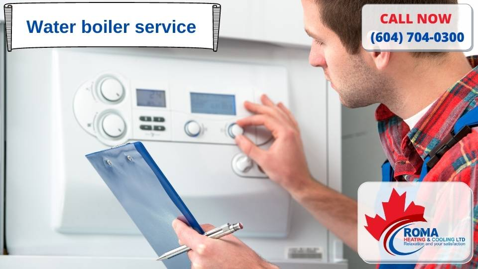 Water boiler service