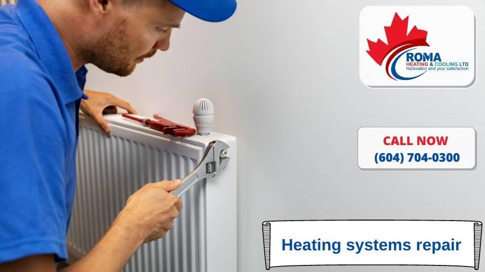 Heating systems repair