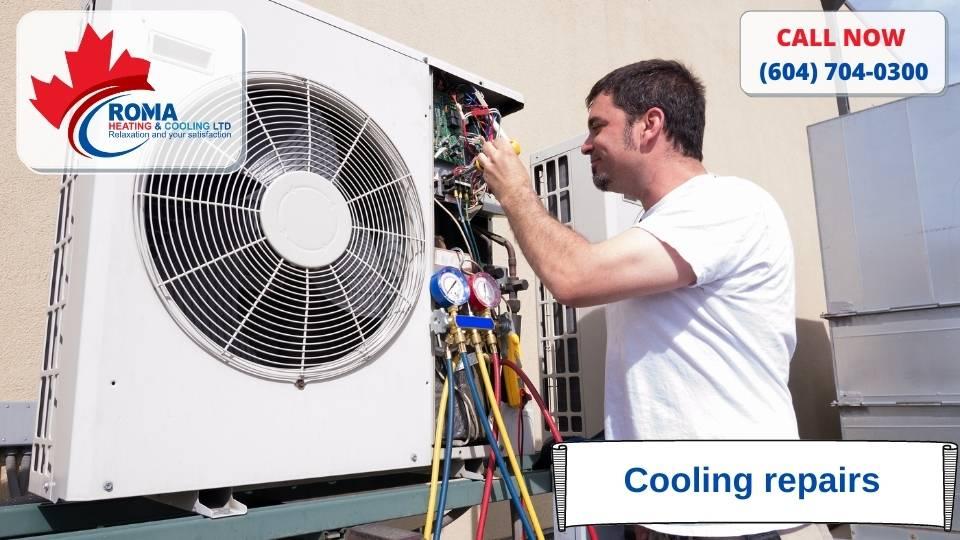 Cooling repairs