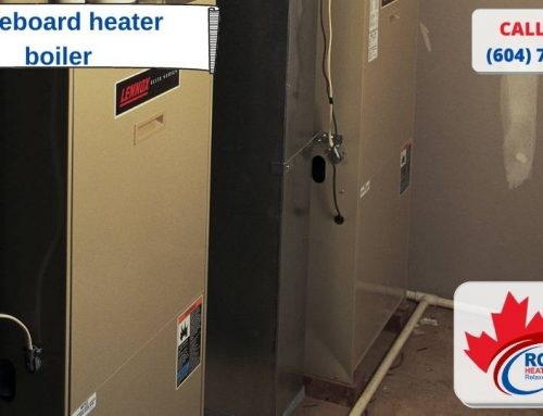 Baseboard heater boiler