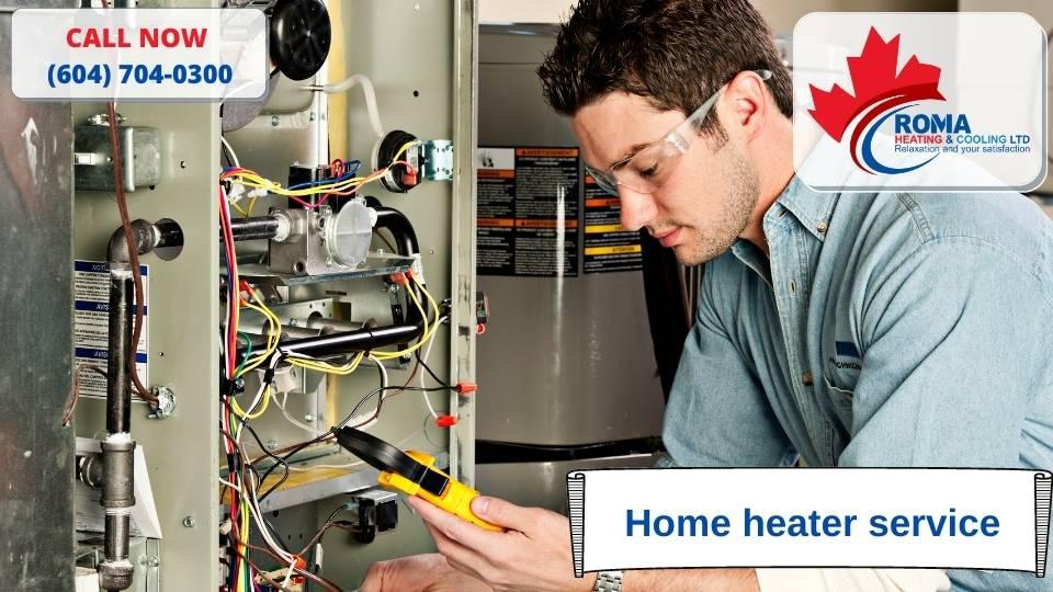 Home heater service
