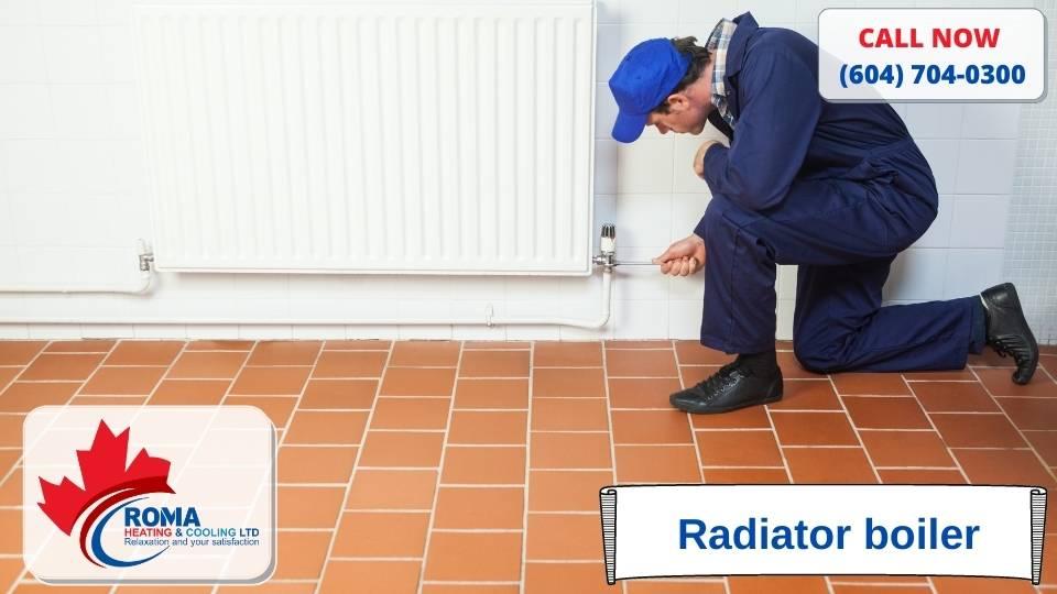 Radiator boiler
