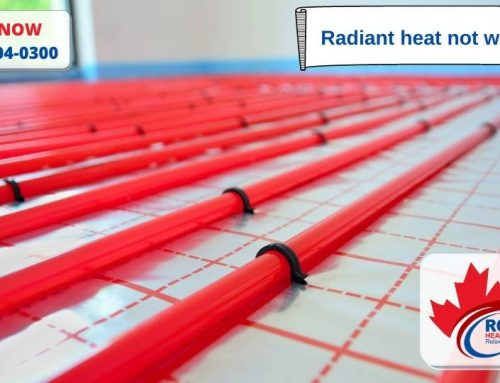 Radiant heat not working