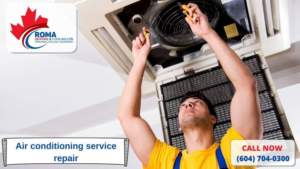 Air conditioning service repair