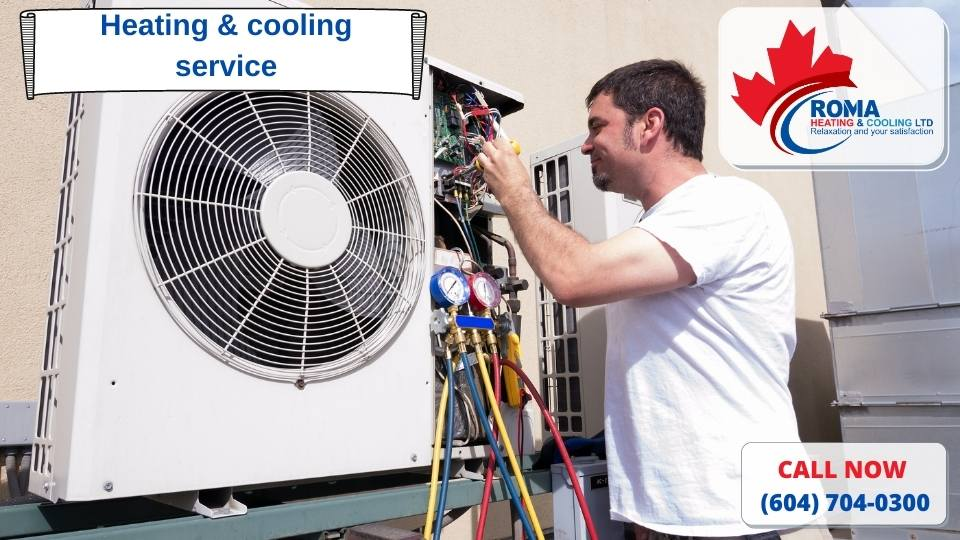 Heating & cooling service