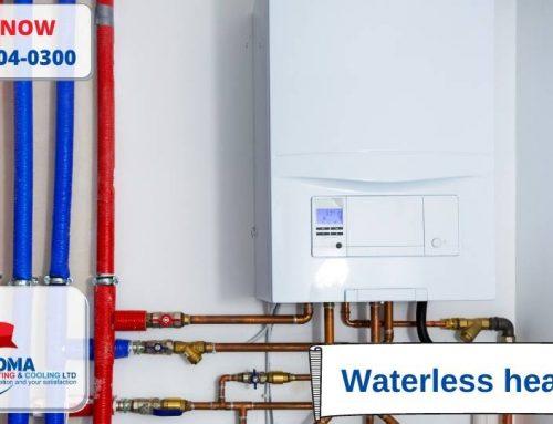Waterless heaters