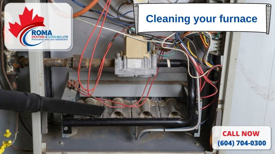 Cleaning your furnace