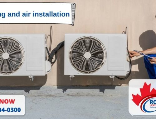 Heating and air installation