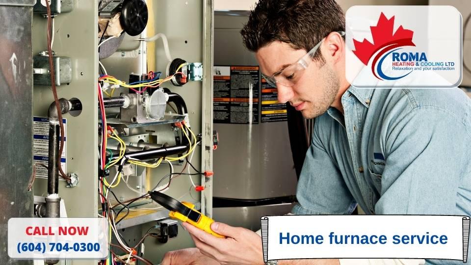 Home furnace service