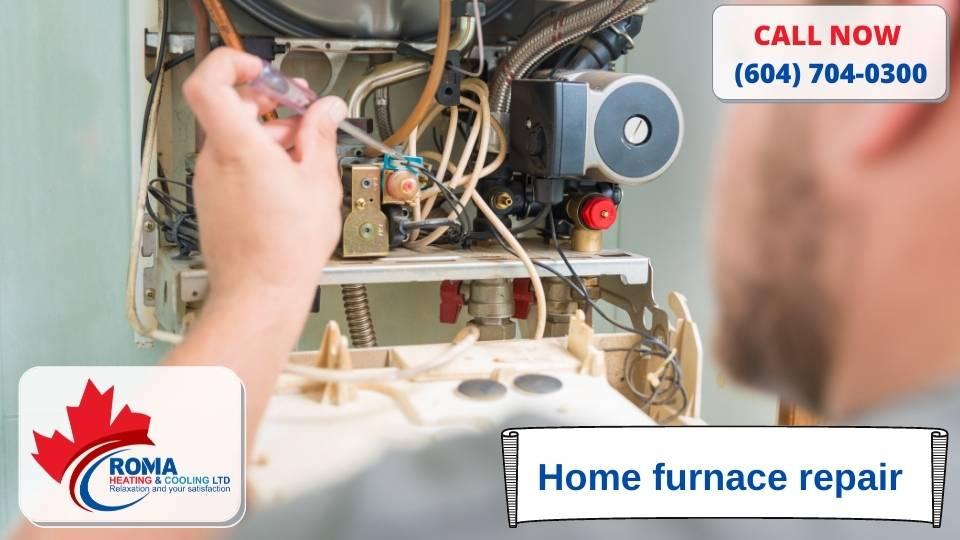 Home furnace repair