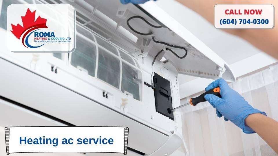 Heating ac service