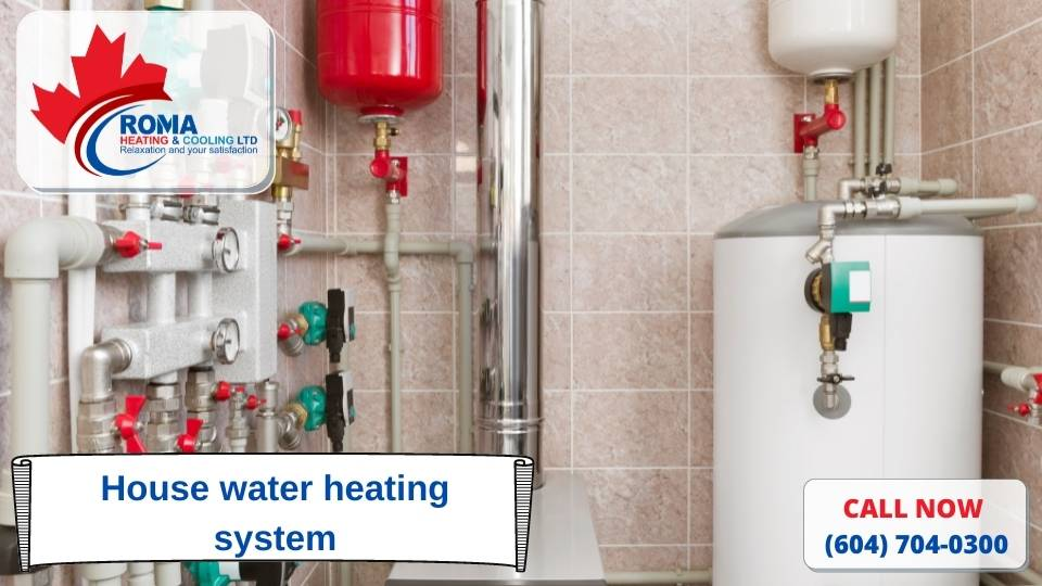 House water heating system