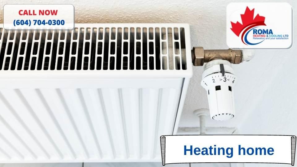 Heating home