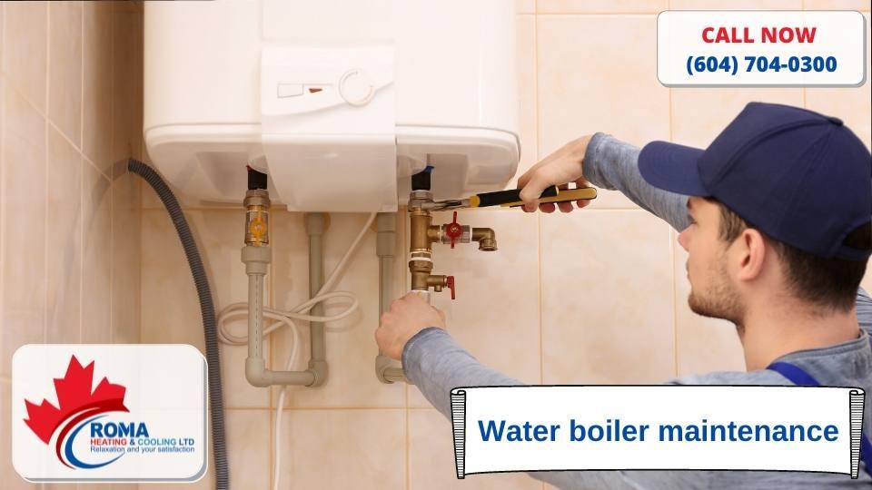 Water boiler maintenance