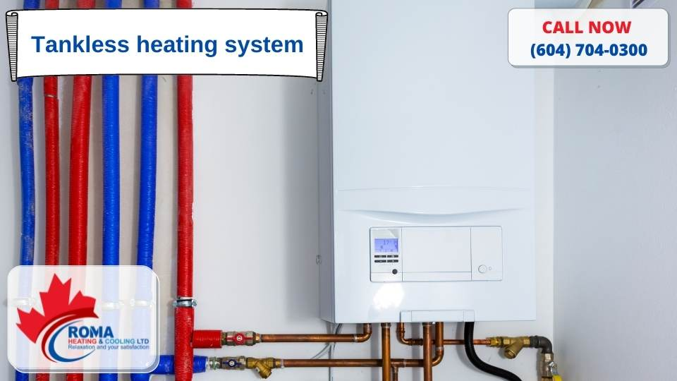 Tankless heating system