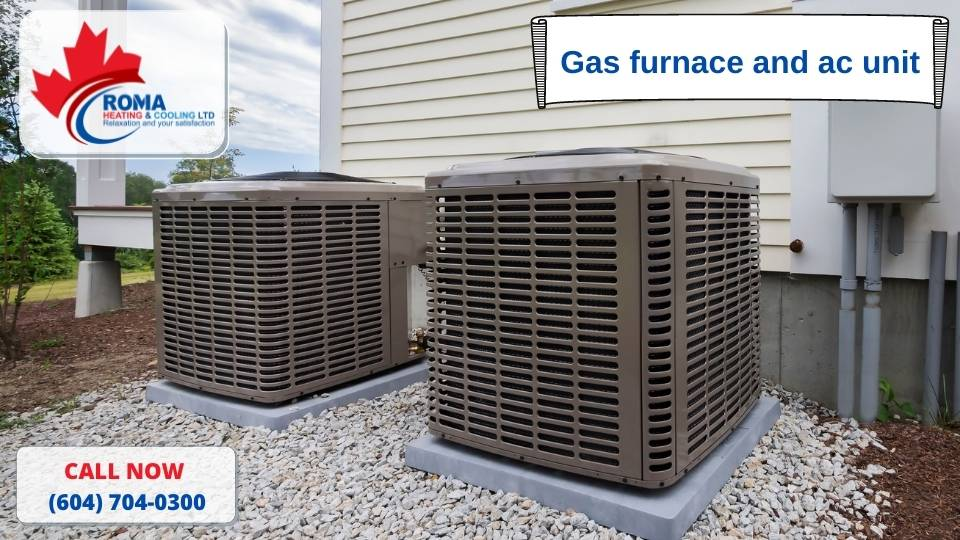 Gas furnace and ac unit